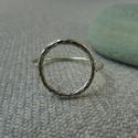 """ezüst mintás karikás gyűrű """"PAaancsika """" részére, 925-ös finomságú ezüstből készült gyűrű 1..."""