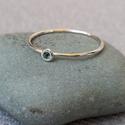 """turmalinos ezüst gyűrű """"csodaszappan"""" részére, 925-ös finomságú ezüstből készült 0,9mm-es ..."""