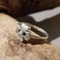 """ezüst lóhere gyűrű """"AnitaM1"""" részére, 925-ös finomságú ezüstből készült gyűrűn ..."""