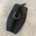 Bőr kulcstartó, Mindenmás, Kulcstartó, Bőrből készült cippzáros kulcstartó, Meska
