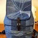 #Nagyméretű hátizsák egyedi mintával