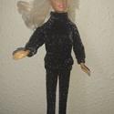 """Barbie babaruha """"Mónika"""", Baba-mama-gyerek, Játék, Baba játék, Baba, babaház, Barbie babaruha, fekete, nagyon divatos alkalmi viselet :-), Meska"""