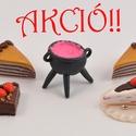 Babaház süticsomag 3. kisüthető gyurmából, Baba-mama-gyerek, Játék, Dekoráció, Gyerekszoba, Gyurma, Szobrászat, KÉSZLETKISÖPRŐ AKCIÓ!!!  Akciós Babaház csomag a készletkisöprés jegyében.  Aprócska sütemények és ..., Meska