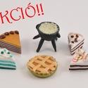 Babaház süticsomag 4. kisüthető gyurmából, Baba-mama-gyerek, Játék, Gyerekszoba, Baba, babaház, Gyurma, Szobrászat, KÉSZLETKISÖPRŐ AKCIÓ!!!  Akciós Babaház csomag a készletkisöprés jegyében. Miniatűr sütemények baba..., Meska