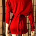 Piros mini, Pamutból készült, s és m méretű piros, hátu...