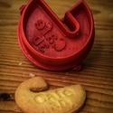 Karácsonyi akció!!! Egyedi neves pohárszél keksz kiszúró, Konyhafelszerelés, Mindenmás, Mindenmás, Termékünket saját vagy szeretteid nevével is elkészítjük, illetve bármit beleírunk, ami elfér a nyo..., Meska
