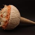 Vintage csokor, Esküvő, Esküvői csokor, Csokor, Virágkötés, Ne csak a dekorációd legyen vintage, hanem a csokrod is! Ehhez a stílushoz ajánlom ezt a kicsit rég..., Meska
