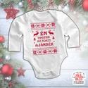 Karácsonyi baba body - Igazi ajándék, Baba-mama-gyerek, Ruha, divat, cipő, Gyerekruha, Baba (0-1év), !A karácsonyi hajtás miatt kis türelmét kérjük mindenkinek! Amennyiben 1 napon belül nem válaszolunk..., Meska