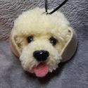 Golden retriever kutya, Dekoráció, Férfiaknak, Dísz, A világ legcukibb kutyája a golden retiever. Gazdit keres,pedig tőle nagyon nehezen válok meg. Nagyo..., Meska