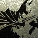 Batman mozaik falikép  LEÁRAZVA!!!!, Dekoráció, Otthon, lakberendezés, Kép, Falikép, Üvegművészet, Mozaik, Mozaik technikával készült falikép, mely Batmant ábrázolja.   Ezt a képet 38900 ft helyett most a f..., Meska