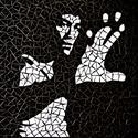 REKREDENC -  Bruce Lee mozaik falikép, Dekoráció, Otthon, lakberendezés, Kép, Falikép, Mozaik, Üvegművészet, ELKELT! ha szeretnél ilyet jelezd üzenetben. Üvegmozaik falikép 55x45 cm.    Más hírességek képeit ..., Meska