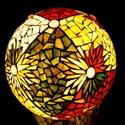REKREDENC - mozaik design gömb lámpa LEÁRAZVA!, Otthon, lakberendezés, Dekoráció, Lámpa, Hangulatlámpa, Mozaik, Most 31990 ft helyett csak 27990 ft!  27 cm átmérőjű,  mozaik design, gömb hangulatlámpa mozaik dís..., Meska