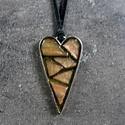 Mozaik medál - rose gold szív  INGYEN POSTA!, Ékszer, Medál, Nyaklánc, Ballagás, Kézzel készült, szív alakú mozaik medál, rose gold színű mozaikokkal, aranyosan csillogó fe..., Meska