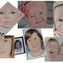 A4-es karton portré, Képzőművészet, Grafika, Rajz, Fotó, grafika, rajz, illusztráció,  Rendelhető 30x20 cm A4-es vegyes technikával készülő karton portré  (fekete-fehér vagy színesben i..., Meska