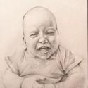 Portré gyerek rajzolás A /3- as méretben képzőművészeti szinten , Dekoráció, Képzőművészet, Grafika, Rajz, Fotó, grafika, rajz, illusztráció, Élethű, realista, képzőművészeti portrék készítését vállalom rövid időn belül! Egy portré rajz mind..., Meska