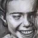 Portré rajzolás szénnel.A/4-es méretben képzőművészeti szinten , Dekoráció, Képzőművészet, Grafika, Rajz, Fotó, grafika, rajz, illusztráció, Élethű, realista, képzőművészeti portrék készítését vállalom rövid időn belül! Egy portré rajz mind..., Meska