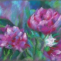 POLCSEPRÉS! Rózsák (tanulmány), Képzőművészet, Dekoráció, Festmény, Pasztell, Festészet, Fotó, grafika, rajz, illusztráció, pasztell festmény 40x30 cm, Meska