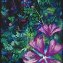 Virágok, Képzőművészet, Dekoráció, Festmény, Pasztell, Festészet, Fotó, grafika, rajz, illusztráció, pasztell festmény 21x30 cm, Meska