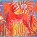 POLCSEPRÉS:) - Lovacska, Képzőművészet, Dekoráció, Festmény, Pasztell, Festészet, Fotó, grafika, rajz, illusztráció, pasztell festmény 65x50cm, Meska