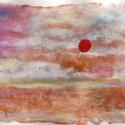POLCSEPRÉS:) - Arany parton, Képzőművészet, Dekoráció, Festmény, Pasztell, Festészet, Fotó, grafika, rajz, illusztráció, pasztell/akvarell festmény 30x21 cm (valóságban kicsit világosabb és az alapozása fénylik:), Meska