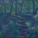 Selyem, Képzőművészet, Dekoráció, Grafika, Rajz, Festészet, Fotó, grafika, rajz, illusztráció, pasztell rajz 30x21 cm, Meska