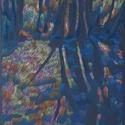 Fény, Képzőművészet, Dekoráció, Grafika, Rajz, Festészet, Fotó, grafika, rajz, illusztráció, pasztell rajz 21x30 cm, Meska