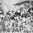 Rét, Képzőművészet, Dekoráció, Grafika, Rajz, Festészet, Fotó, grafika, rajz, illusztráció, pasztell rajz 30x21 cm, Meska