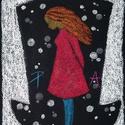 Valami Alice 3., Képzőművészet, Dekoráció, Festmény, Pasztell, pasztell festmény 21x30 cm, Meska