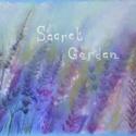 Titkos kert, Képzőművészet, Dekoráció, Festmény, Pasztell, Festészet, Fotó, grafika, rajz, illusztráció, pasztell festmény 30x21 cm, Meska