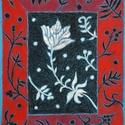 Polcseprés:) - Virágom, Képzőművészet, Dekoráció, Festmény, Pasztell, Festészet, Fotó, grafika, rajz, illusztráció, pasztell festmény 21x30 cm, Meska