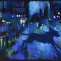 Szaladj!, Képzőművészet, Dekoráció, Festmény, Pasztell, pasztell festmény 23x30.5 cm, Meska