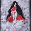 Mosoly, Képzőművészet, Dekoráció, Festmény, Pasztell, Festészet, Fotó, grafika, rajz, illusztráció, pasztell festmény 30.5x23 cm, Meska