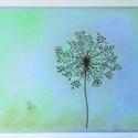 Csipkevirág, Képzőművészet, Dekoráció, Festmény, Pasztell, pasztell festmény/rajz 21x29.7, Meska