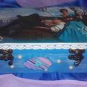 kék álom, Otthon, lakberendezés, Dekoráció, Tárolóeszköz, Doboz, mérete: 22 cm. x 16. cm. x 6,5 cm.  A posta költségébe, még két doboz belefér., Meska
