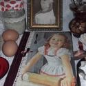 kislányos nosztalgia receptes  , A 5-ös méretű könyvkötővel köttetett, natú...
