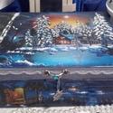 téli éjszaka - karácsonyi nosztalgia doboz