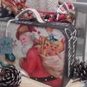 Mikulásos bőrönd - karácsonyi nosztalgia doboz