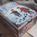 téli madáretetés - karácsonyi nosztalgia doboz