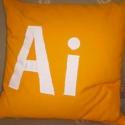 párnák pc megszállottaknak, 35x35cm-es párnák, töméssel az Adobe termék c...