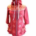 Hímzett kabátka, Ruha, divat, cipő, Magyar motívumokkal, Női ruha, Rendelhető, jelenleg nincs raktáron. A méretek levételét vagy megadását követően az elkész..., Meska