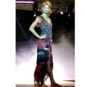 Autós szoknya, Ruha, divat, cipő, Női ruha, Szoknya, Flamenco stílusú fodros, zsebes hosszú pamut szoknya. Az első divatbemutatós képen eltérő a derékrés..., Meska