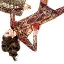 'Mélytengeri álom' printelt ruha, Ruha, divat, cipő, Női ruha, Estélyi ruha, Ruha, A ruha alapanyaga digitális printelt plüss, a nyakán és az ujja közepén alul, valamint az oldalvarrá..., Meska