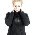 Hímzett magyar népi motívumos kabátka, Ruha, divat, cipő, Női ruha, Kabát, Rendelhető! Jelenleg nincs raktáron! A méretek levételét ill. megadását követően az elkész..., Meska