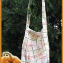 Kockás táska-  AKCIÓ!, ****AKCIÓÓÓ!!! ****  Egyszerű, nyári, könn...