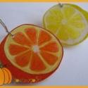 citrus fülbevaló, A nyár frissességét, és a tél melegét őrző...