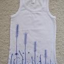 kékfestős póló - rendelhető, Modernizált kékfestő. Kézzel festett, egyedi n...
