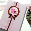 MADÁRKÁS napló, emlékkönyv, jegyzetfüzet..., Cuki madárkás napló, jegyzetfüzet, emlékköny...