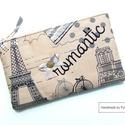 VINTAGE Párizs neszi, tolltartó, Táska, Neszesszer, Pénztárca, tok, tárca, Vintage Párizs, romantikus neszi, tolltartó, cipzáras tároló...használd amire szeretnéd :O) A mérete..., Meska
