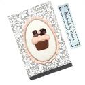 MUFFINOS napló, receptfüzet, jegyzetfüzet..., Naptár, képeslap, album, Jegyzetfüzet, napló, Romantikus napló, receptfüzet, jegyzetfüzet...használd amire szeretnéd :O) A füzet kemény fedeles, A..., Meska