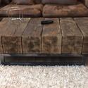 CHAYTON dohányzóasztal RENDELHETŐ, Bútor, Otthon, lakberendezés, Dekoráció, Asztal, Gerendából készült robosztus dohányzóasztal  Mérete 120x70x35  Méret, szín igény szerint v..., Meska